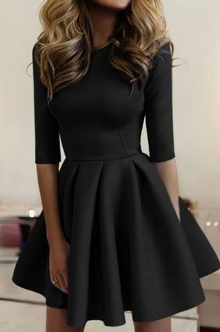 amazing little black dress