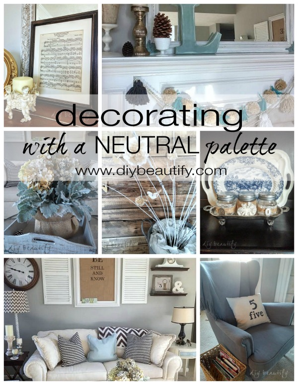 neutral decorating