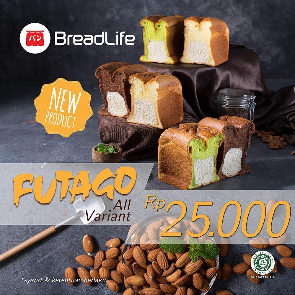 #BreadLife - #Promo New Produk Futago All Variant Hanya 25K (s.d 13 Feb 2019)