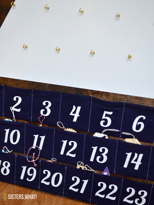How to make a modern advent calendar