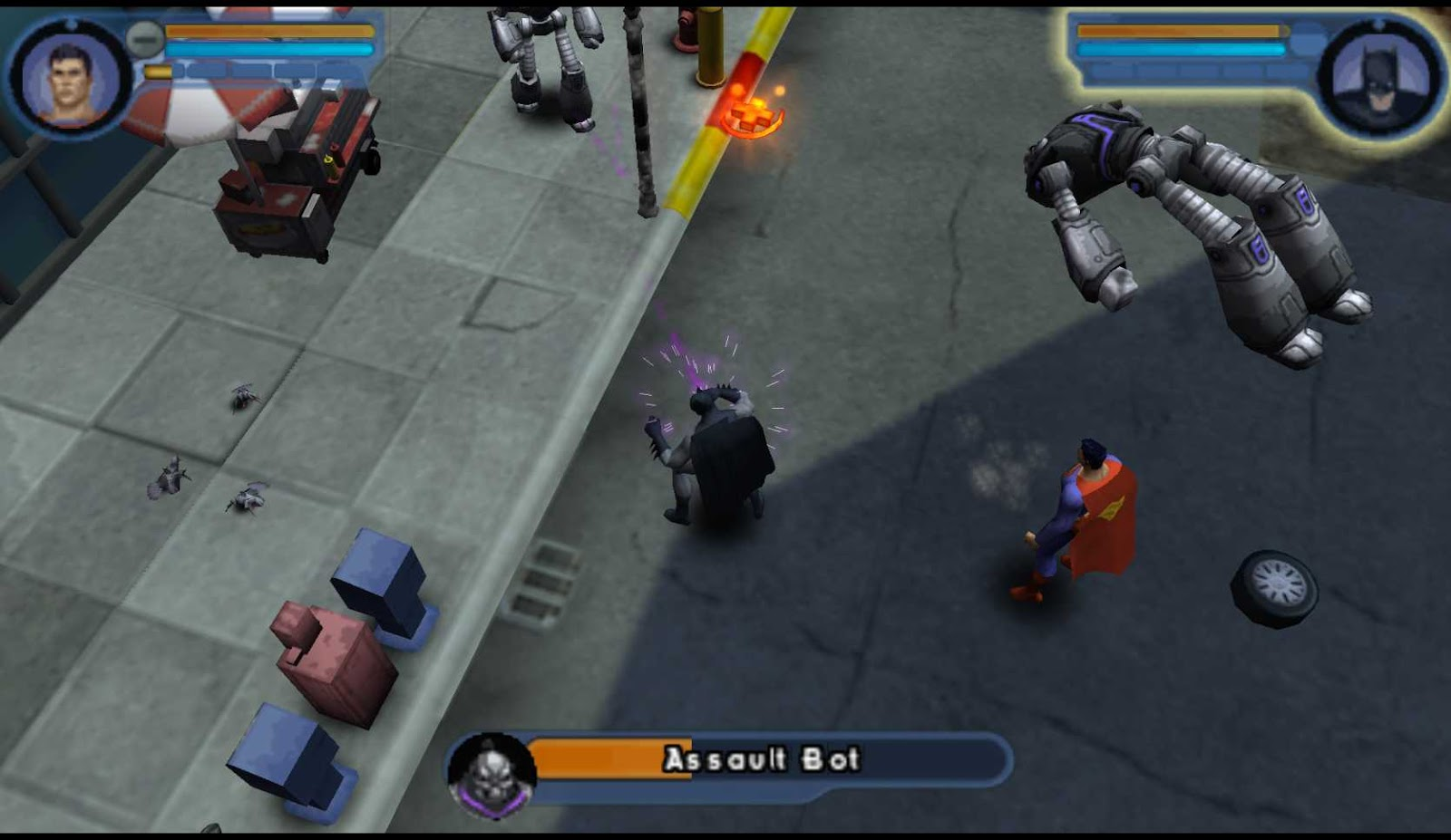 Download Justice League Heroes (USA) ISO PSP PPSSPP High