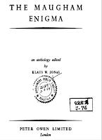 jonas - maugham enigma