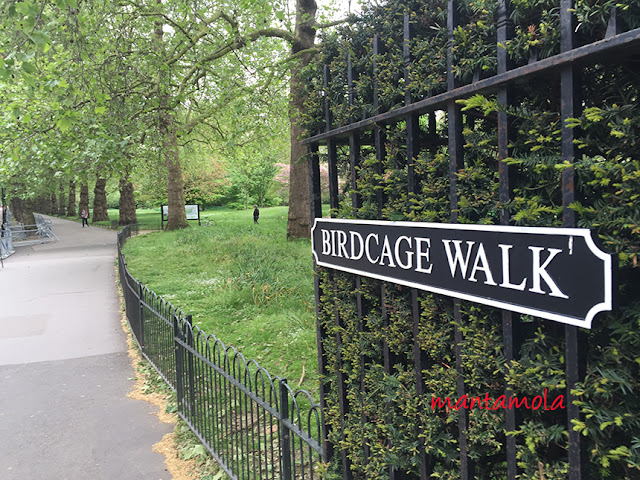 St James Park Birdcage walk