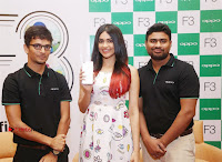 Bollywood Actress Adah Sharma Pos in White Printed Short Dress at OPPO F3 Plus Selfie Expert Mobile Launch .COM 0096.jpg
