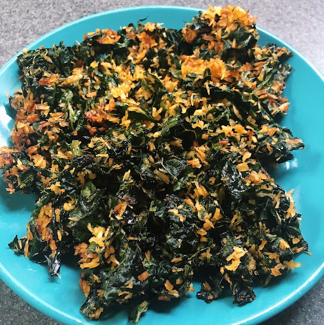 Crispy Coconut Kale Recipe