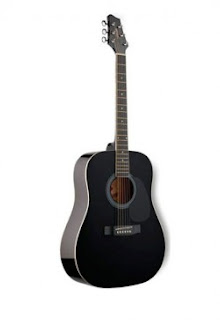 Đàn Guitar Acoustic Stagg SW201BK