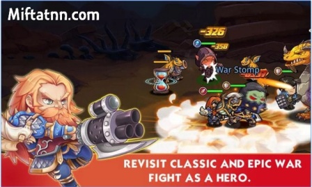 Game RPG Strategi Online Android Magic Craft MOD APK