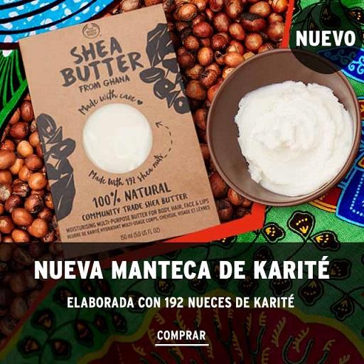 Novedad en TBS: Manteca de Karité