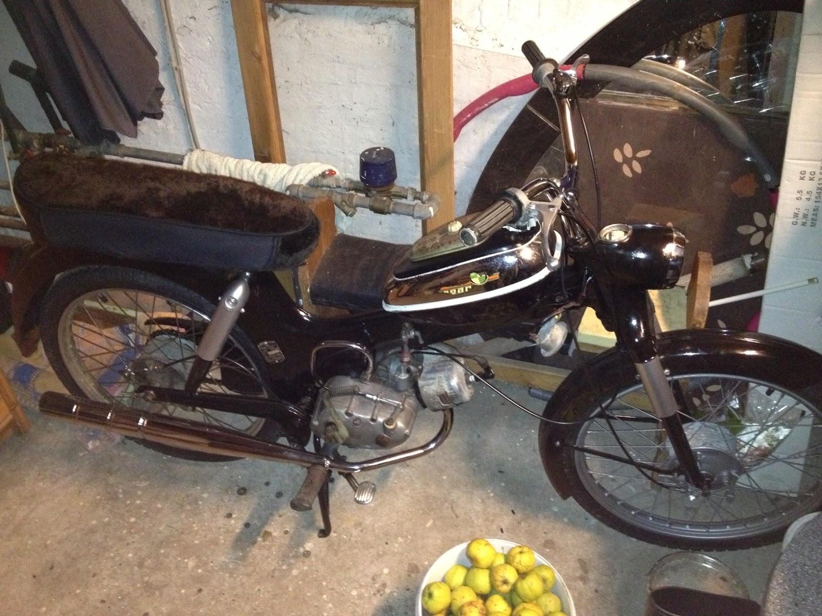 Kreidler Florett & Puch MS 50: Puch MS50 3 gear
