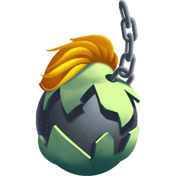 Appearance of Wrecking Dragon when egg
