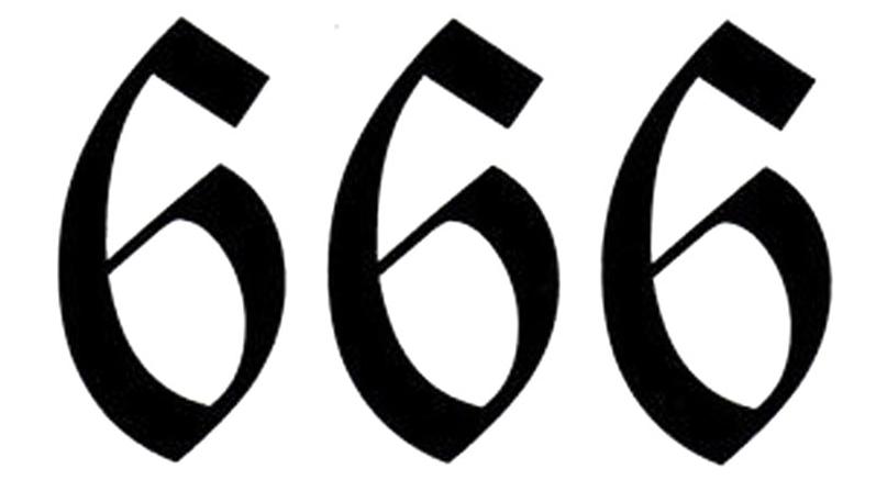 Esiste un significato segreto dietro al numero 666 del diavolo