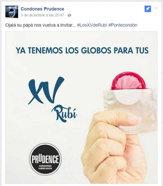 """Prudence lanza """"globos"""" para la fiesta de XV años de Rubí"""