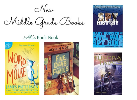 Fabulous New Middle Grade Reads this week dec 13