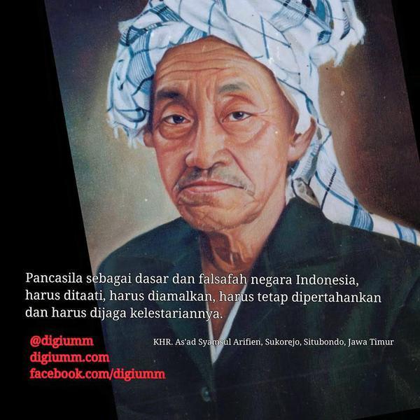 KH Raden As'ad Syamsul Arifin, Sang Pengawal Berdirinya NU dan NKRI