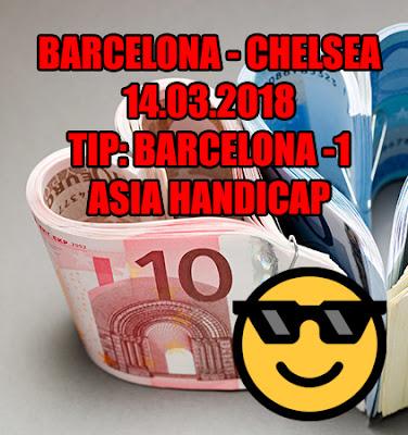 Barcelona - Chelsea 14.03.2018 - Cash Bet Invest