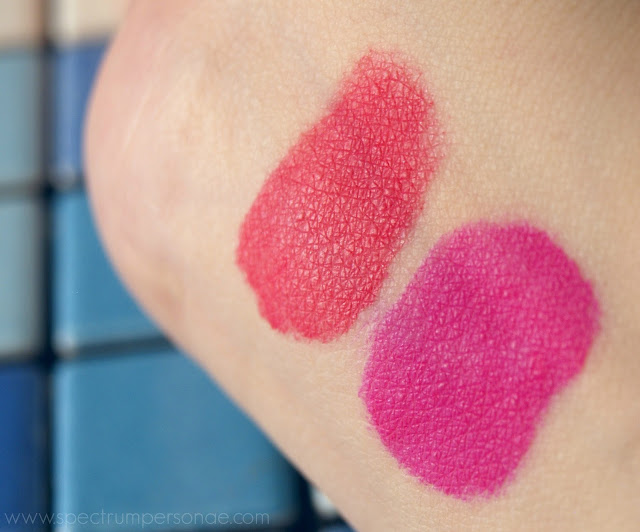Pupa Coral Island LE - Made To Last Lip Duo 002 003 swatches