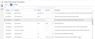 param2 - Configuring HCM Data Loader Parameters