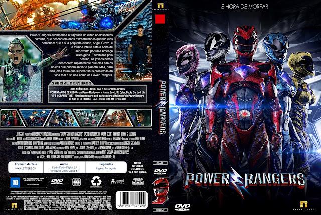 Capa DVD Power Rangers [Custom]
