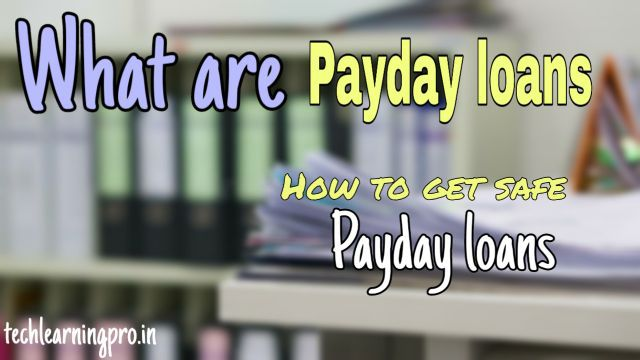 How to get safe online payday loans | Best online Payday loans