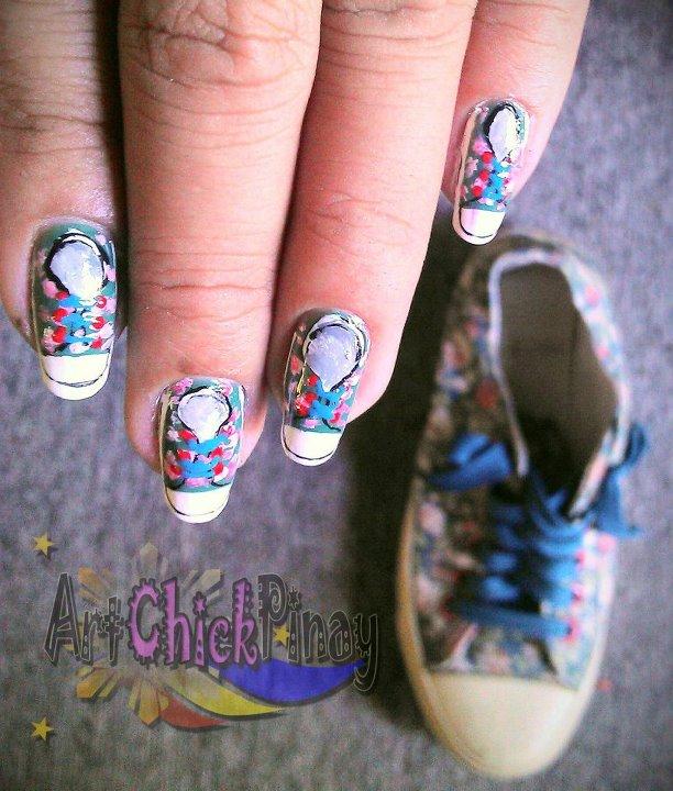 Nail Art Couture Converse Nail Art: ArtChickPinay: My Top 5 Favorite Nail Art Designs