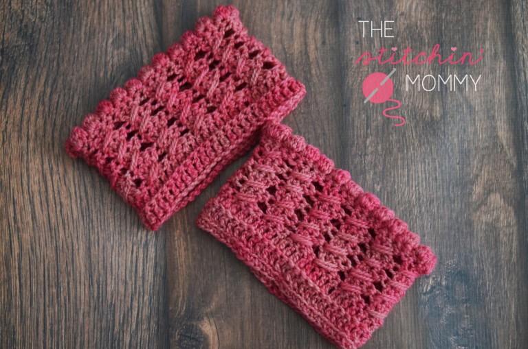 Fiber Flux Beautiful Boot Cuffs 24 Free Crochet Patterns