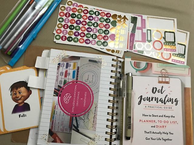 Identificar, Compreender e Expressar Emoções - Diário/Journaling