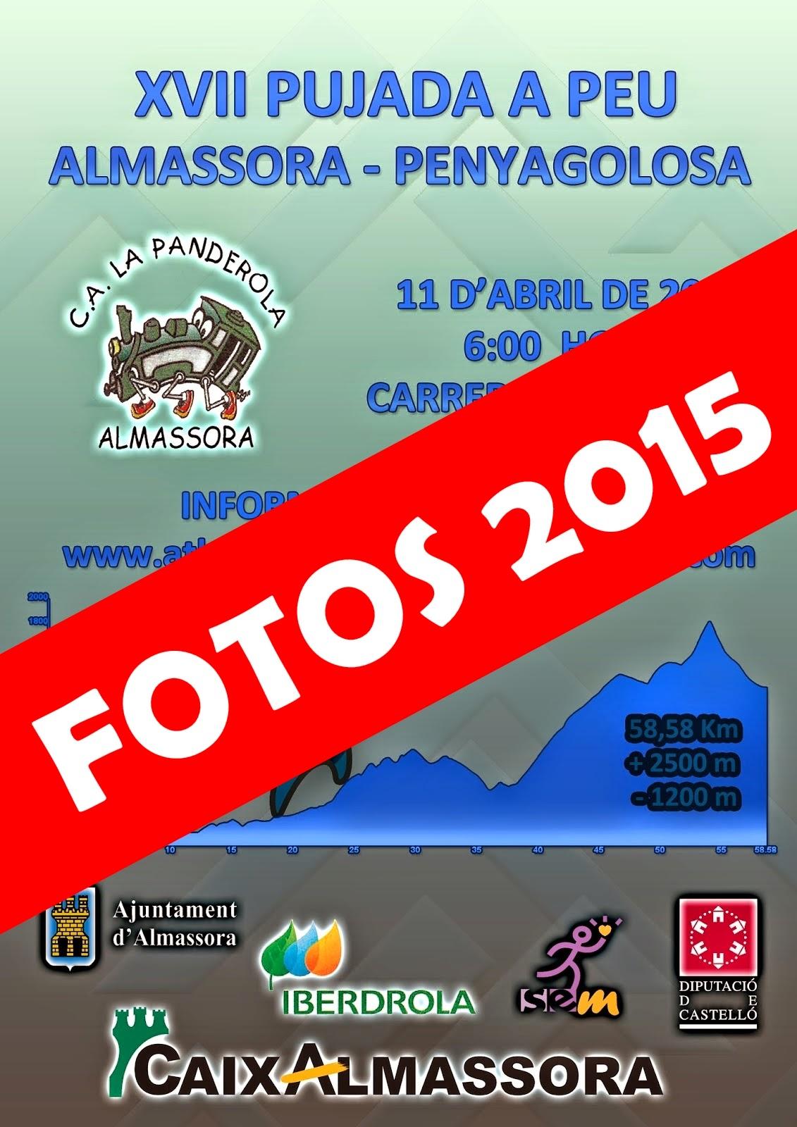 FOTOS XVII PUJADA A PEU ALMASSORA-PENYAGOLOSA 2015