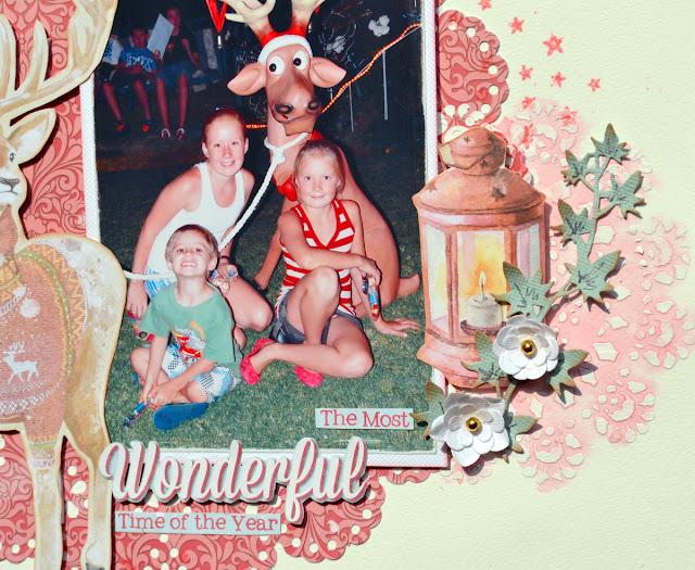 Carousel Christmas_Mixed Media Layout_Denise_11 Oct_02