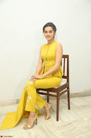 Taapsee Pannu looks mesmerizing in Yellow for her Telugu Movie Anando hma motion poster launch ~  Exclusive 025.JPG