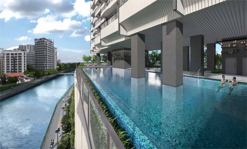 Jui Residences - Swimming Pool