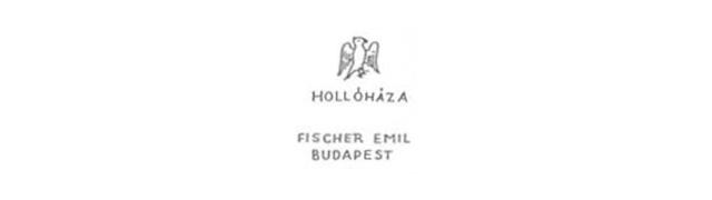 1915 - 1919 - HOLLÓHÁZA FISCHER EMIL BUDAPEST jelzéses kerámiajegy