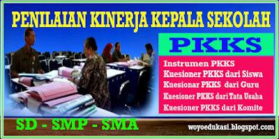 INSTRUMEN PENILAIAN KINERJA KEPALA SEKOLAH (PKKS) SD,SMP,SMA