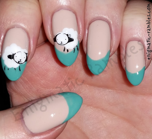 spring-lamb-animal-konad-s10-nails-nail-art