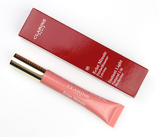 October monthly favourites clarins instant light natural lip perfector gloss 05 candy shimmer review