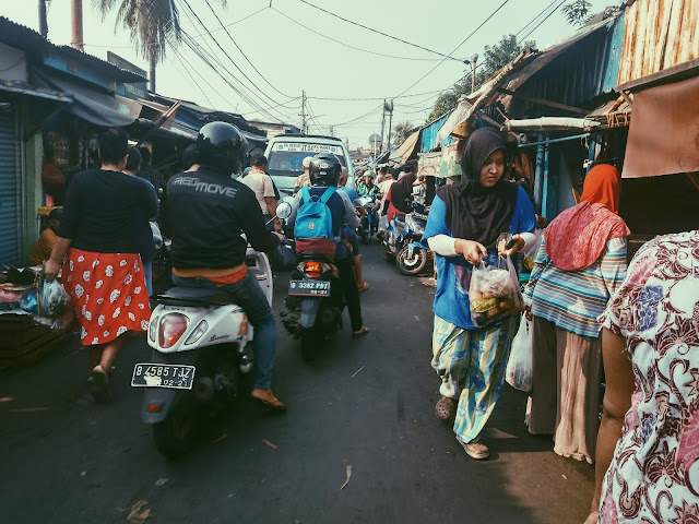 Pasar Jangkrik di pagi hari