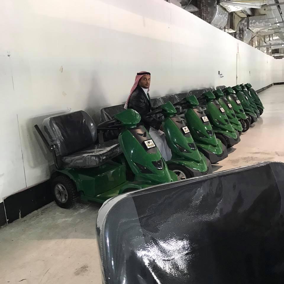 Lebih 9000 Skuter Disediakan untuk Layani Thawaf Jamaah Lansia di Makkah