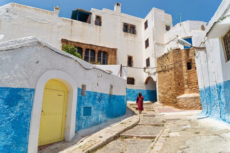 6. The Kasbah des Udayas, Rabat, Morocco - 29 Most Romantic Alleys to Hike