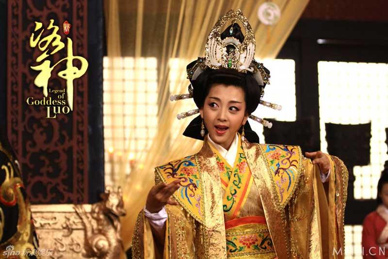 นางกุยฮุย จากละครซีรี่ย์ Legend of Goddess Luo 2013 《新洛神》
