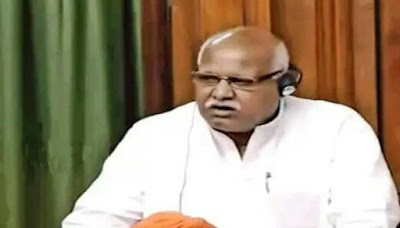 Lallu Singh MP Raises Issue Of Slums
