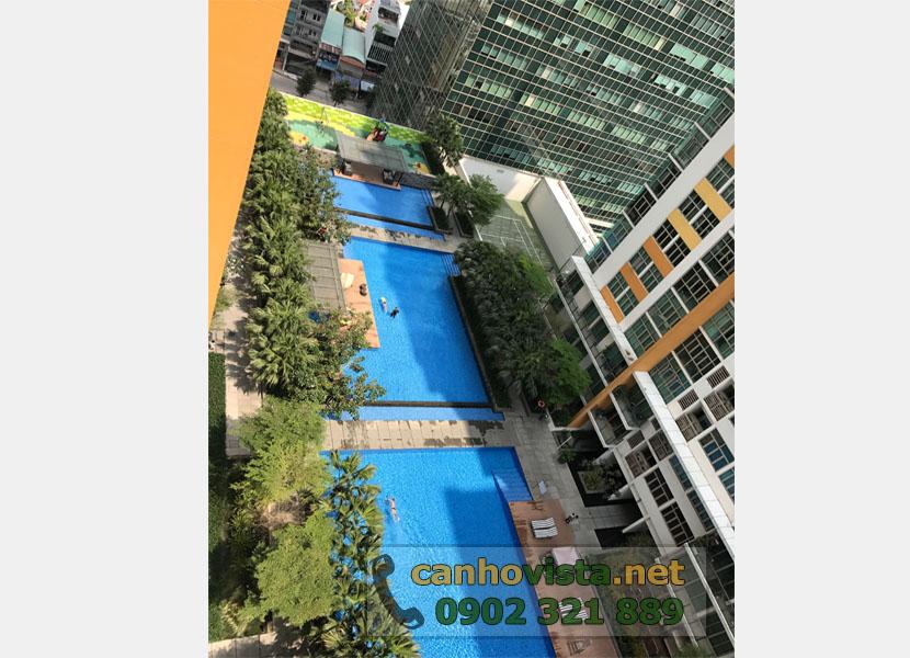 The Vista Quận 2 cần bán nhanh căn hộ 101m2 - view hồ bơi