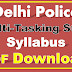 Delhi Police MTS Syllabus PDF Download Multi-Tasking Staff Civilian Syllabus
