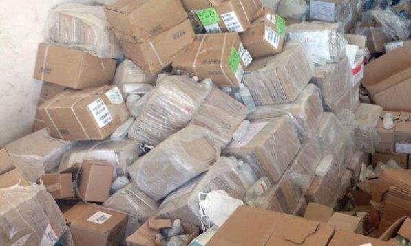 العثور على أسلحة وأدوية بعضها إسرائيلية وأمريكية الصنع من مخلفات الإرهابيين في ريف القنيطرة