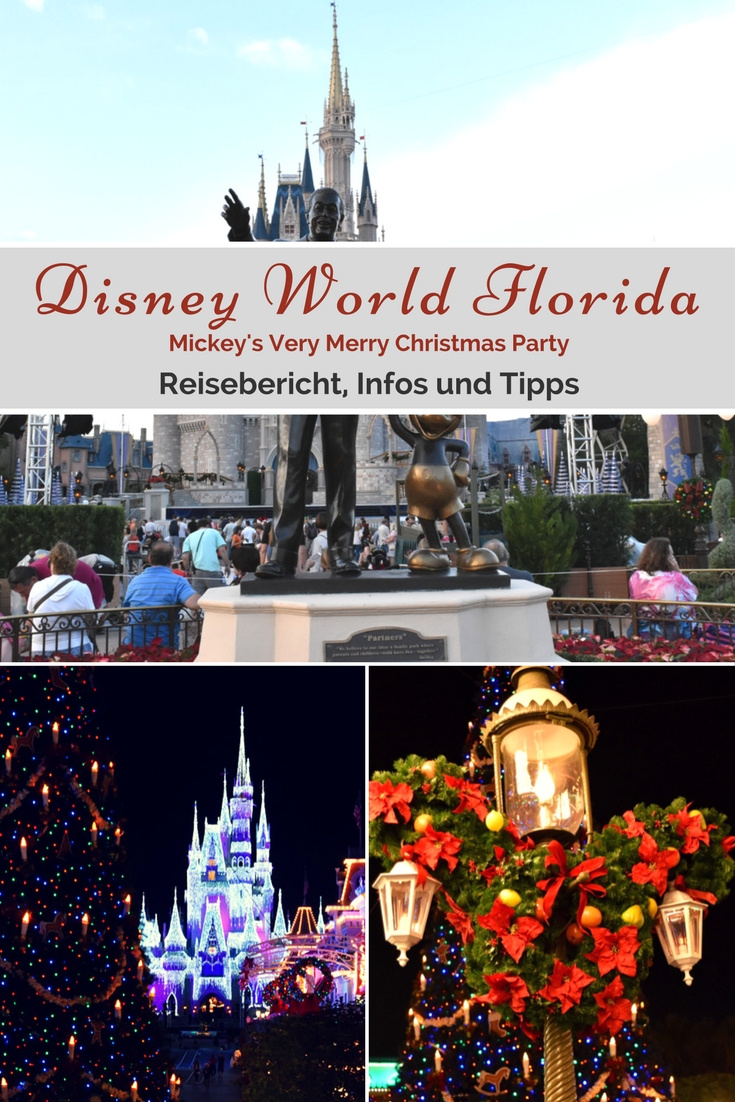 Disney World Florida - Mickey's Very Merry Christmas Party - Reisebericht, Infos und Tipps
