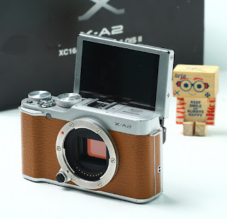 Jual Mirrorless Fujifilm X-A2 Body Only Bekas