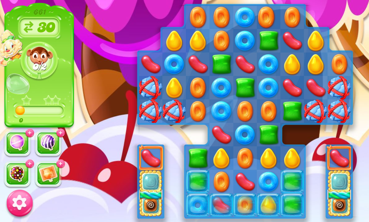 Candy Crush Jelly Saga level 661