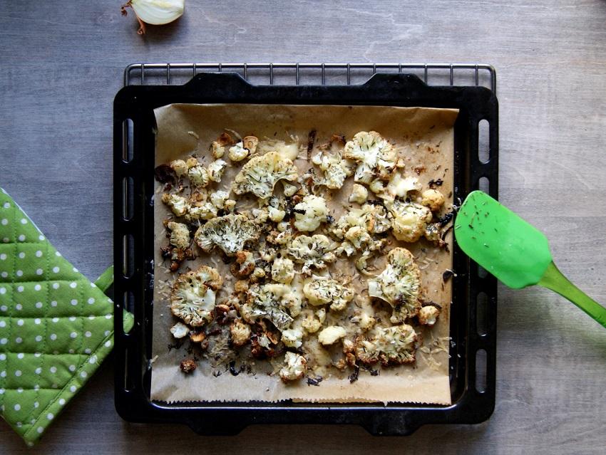 Kalafior pieczony w piekarniku