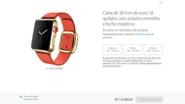 Apple Watch, Apple, Michell, Michell Hilton, Brasil