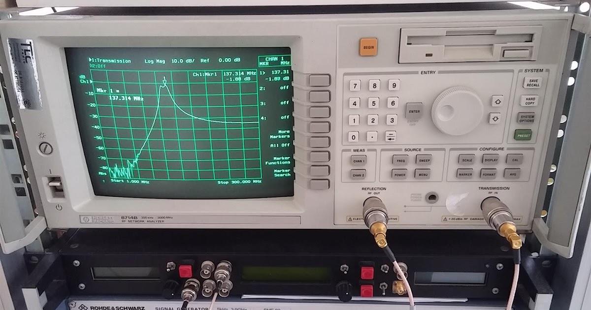LNA for all: DIY 137 MHz WX sat BP filter