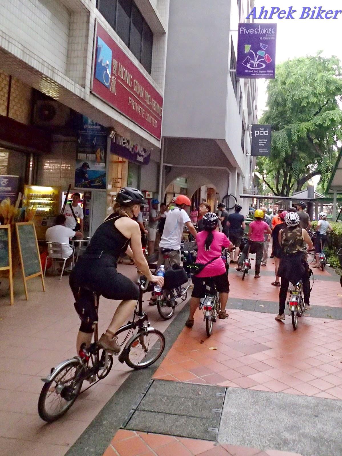 ahpek biker old dog rides again cycling singapore 2015 day 1