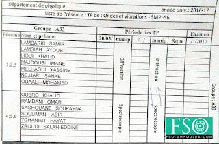 SMP S6 : Groupe A33 TP Ondes et Vibrations